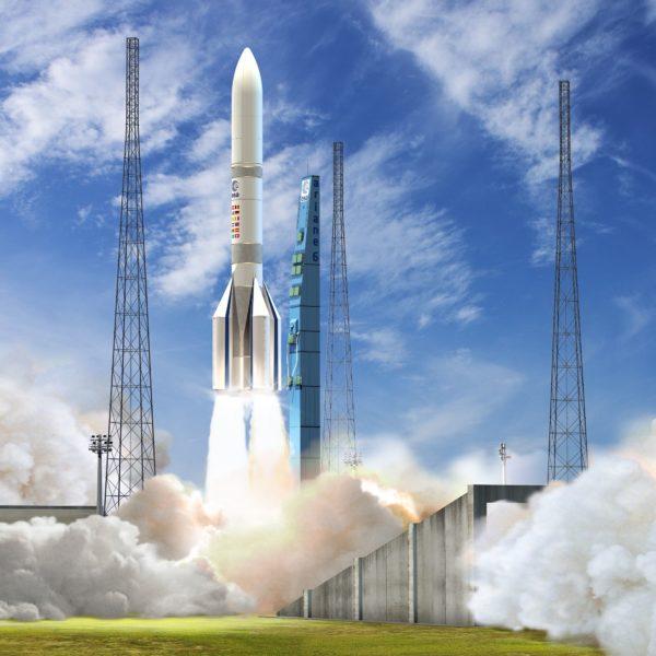 Illiustration de décollage d'Ariane 6