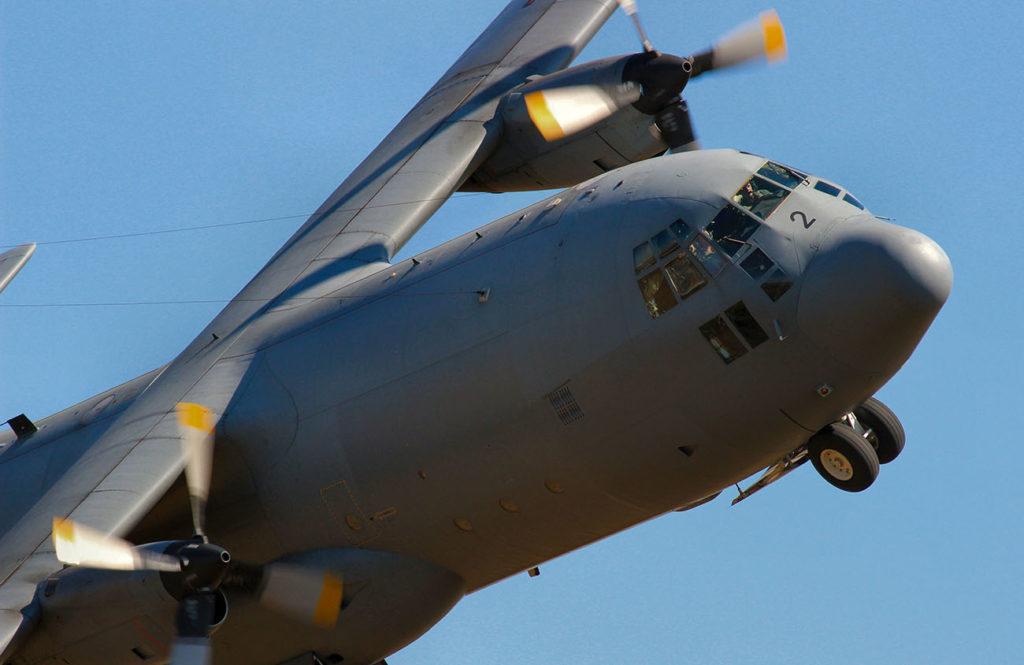 Avion militaire de type Airbus A400M